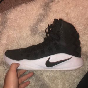 Basketball shoes practically brand new